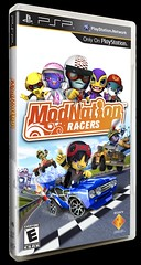 ModNation Racers PSP: UMD retail