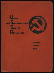 Katalog des Sowjet-Pavillons auf der Internationalen Presse-Austellung, Ko¦Иln 1928 (andreyefits) Tags: 1920s magazine cover soviet avantgarde constructivism ellissitzky