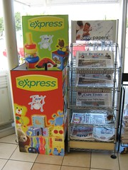 Display Bins for BP Express