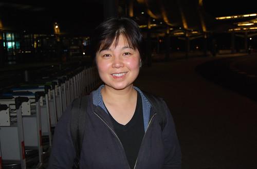 h8 - Chunlin at Shanghai Airport