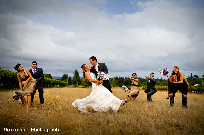 Yanthe & Mark - The fun loving Bridal Party