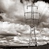 (andrewlee1967) Tags: pylon sky clouds bw transmissiontower blackandwhite canon50d andrewlee1967 power electricity lines springhead oldham uk gb england britain mywinners andrewlee