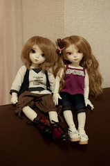 Resin Twins (keiness) Tags: fairyland rince shiwoo nikond90 littlefee