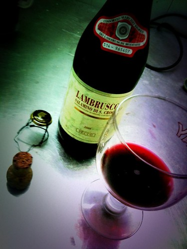 Lambrusco Wine