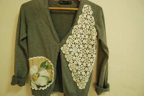 my altered cardigan