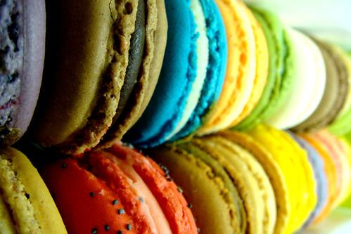 Macarons Wengé