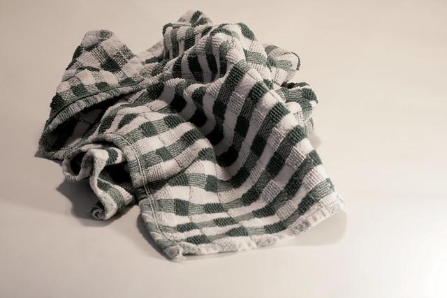 Messy towel