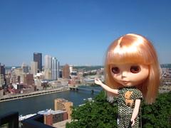 Lemon looks at the Steel City.