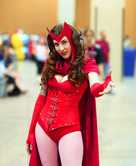 Scarlet Witch 2010 Phoenix Comicon (gbrummett) Tags: red arizona woman cute sexy comics cool cosplay xmen movies cleavage comiccon comicon marvelcomics cleaves 2010 phx stanlee scarletwitch redclothes wandamaximoff canoneos5dmarkiicamera canon85mmf12liiusmlens azavengers 2010phoenixcomiccon arizonaavengers arizonaavengersarizonasmightiestheroes annavonwinter