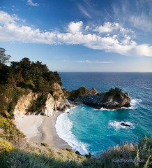 McWay Falls and Julia Pfeiffer State Beach California