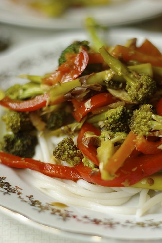 Broccoli and Almond Stir Fry