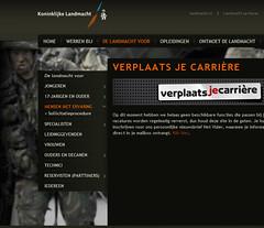 Landmacht-campagne 'Verplaats je carrière'