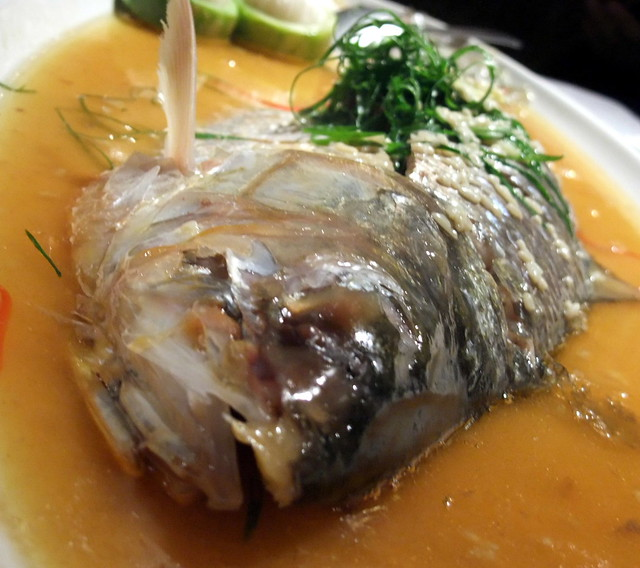 Steam Fish with Rice Wine