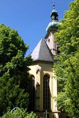 Marienkapelle, Bad Kissingen (palladio1580) Tags: park friedhof church kirche barock gotisch badkissingen marienkapelle