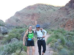 Clare & Ann North Kaibab Trail at 6:30am