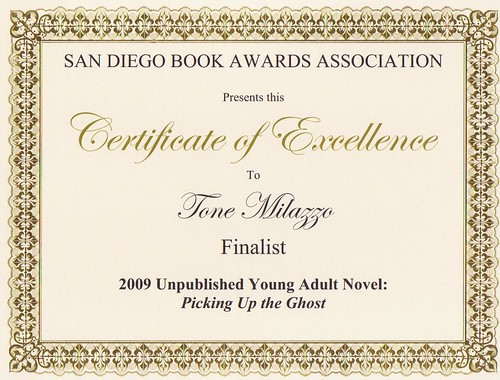 From the 2009 San Diego Book Awards