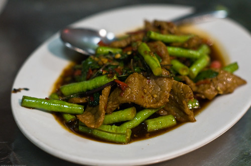 Stir-fried Basil Beef
