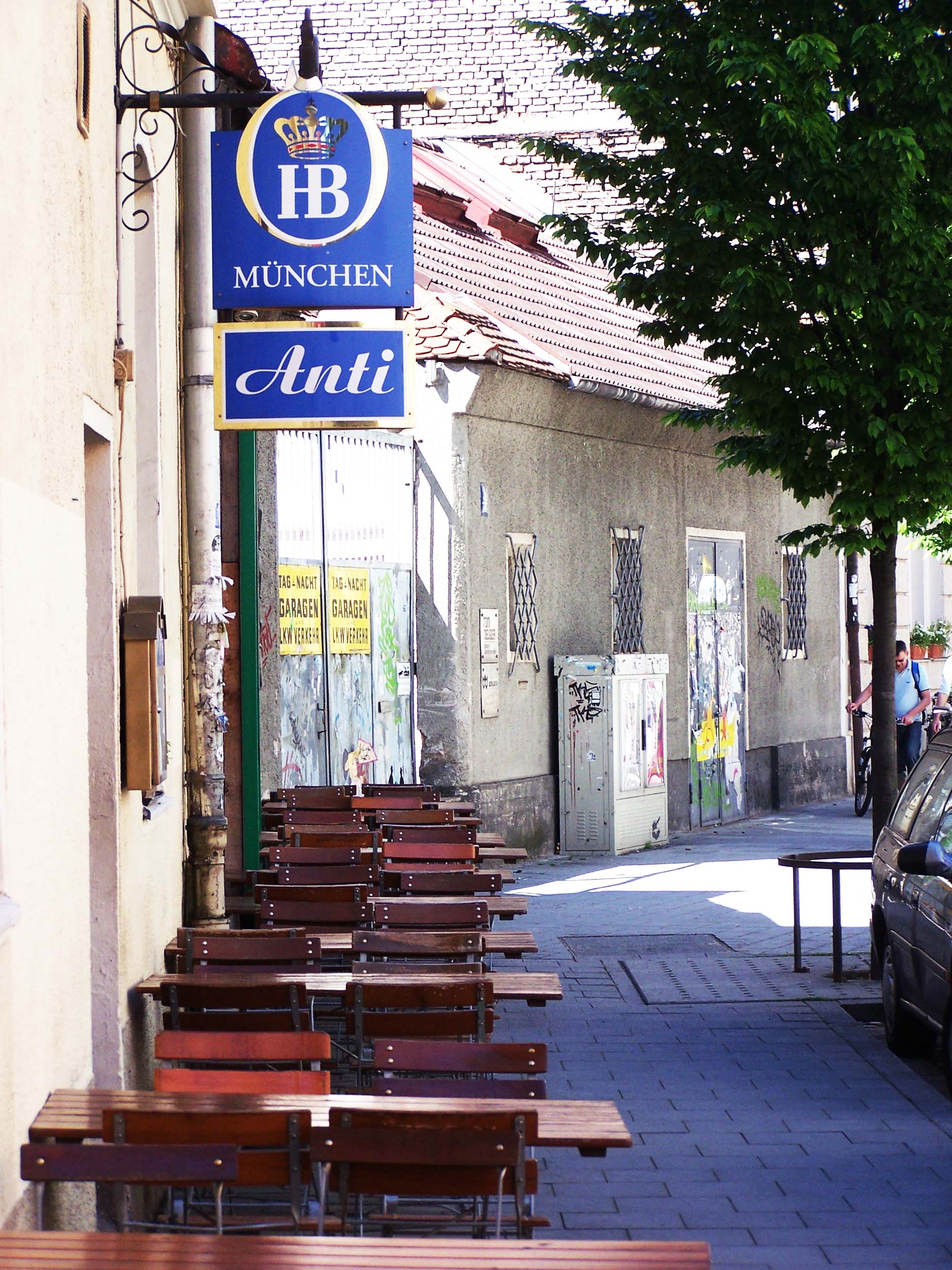 Taverne Anti, Jahnstraße 36, München Glockenbachviertel
