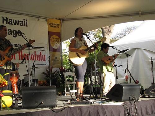 Mailani at Book & Music Festival 2010, Honolulu