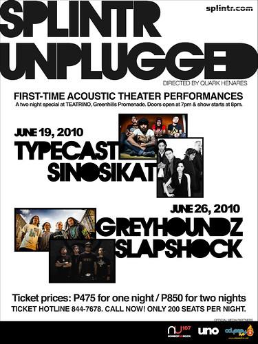 Splintr Unplugged