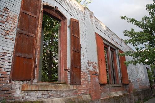 portland old wall