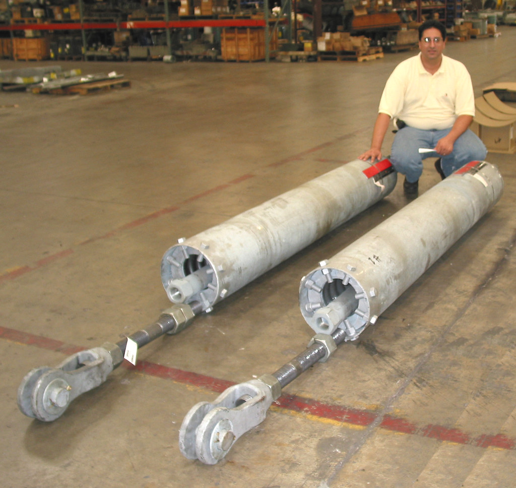 24,500 lb. Load PTP- 8 Type C Variable Spring Assemblies