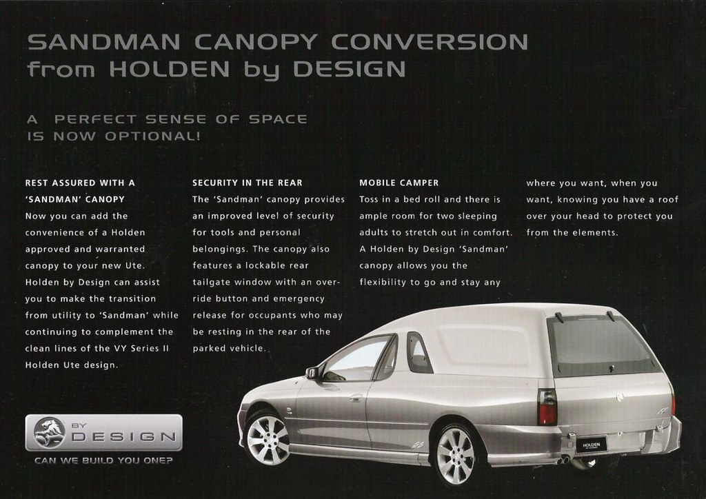 What does everyone make of this Brochure that does not think they are Sandmans? & V series u0027Sandmanu0027