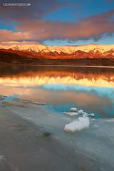 Campotosto Lake (lucagiustozzi.com) Tags: lake lago di gran della laga monti sasso campotosto