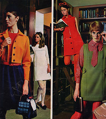 60s fashion (Simons retro) Tags: fashion magazine mod 60s 1960s seventeen
