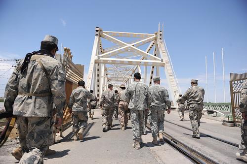 5th Zone ABP border crossing point to Uzbekistan