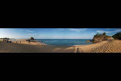 Panorama - Kemasik (digitelwerk) Tags: rockybeach terengganu tropicalbeach kemaman goldensand pantaikemasik kemasikbeach