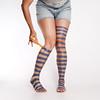 Painted on socks...   161 (YetAnotherLisa) Tags: portrait me socks self paint stripes brush cliche stripedsocks clichesaturday