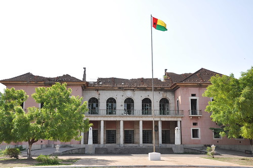 Roof-less Presidential Palace