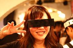 黒目線眼鏡