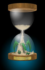 Lost Decade Games hourglass logo