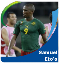 Pictures of Samuel Eto'o!