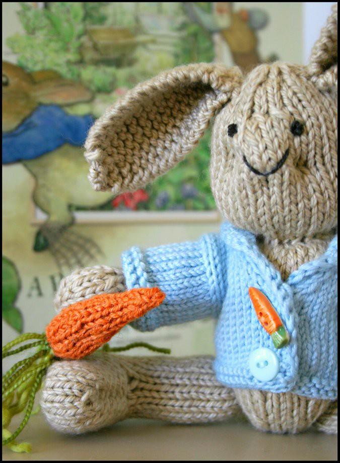 Never Not Knitting Peter Rabbit