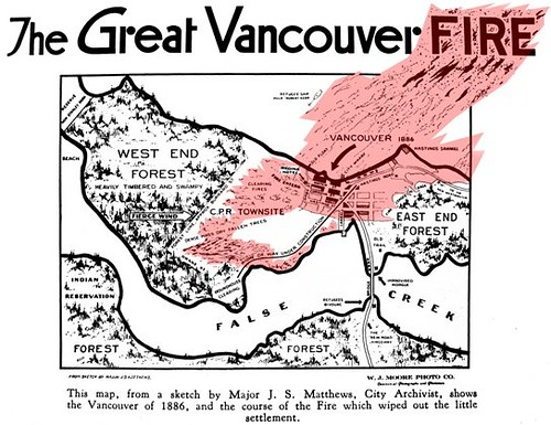 1886 - The Great Vancouver Fire