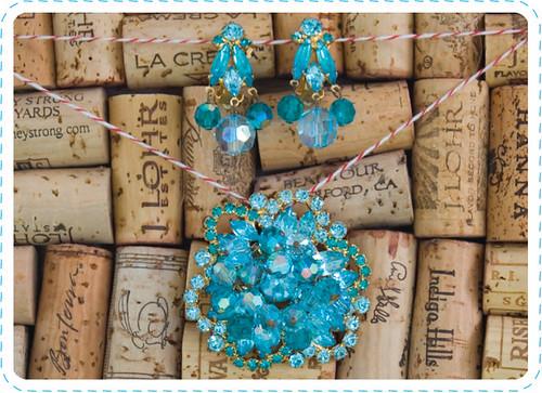 Vintage Blue Jewelry