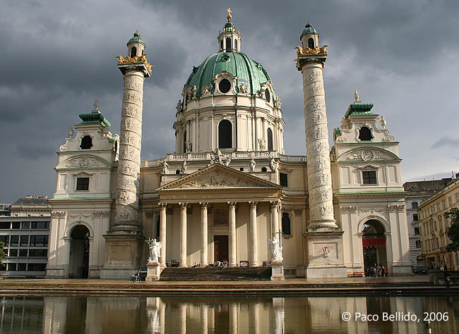 Karlskirche. © Paco Bellido, 2006