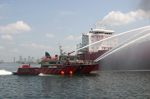 Port Of Tampa Fire 2010-0617