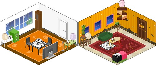 Pigg - Halloween flooring and wallpaper
