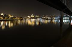 Duas cidades um rio (Nuno's Photo Warehouse) Tags: portugal nova rio night canon river reflex vila porto 7d douro noite gaia reflexo nunofrocha ilustrarportugal