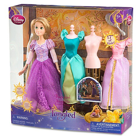 Thumb Disney Tangled Toys: Rapunzel and Flynn dolls