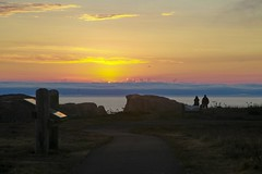 Coquille Point sunset, Oregon Islands NW by USFWS Headquarters, on Flickr
