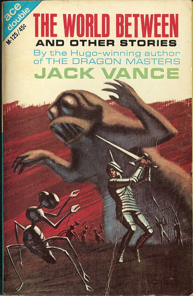 Jack Gaughan - Cover Illustration for Jack Vance - The World Between and Other Stories, 1965