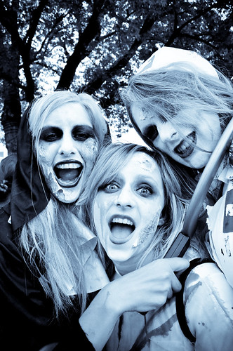 Zombie girls by gordonplant, on Flickr