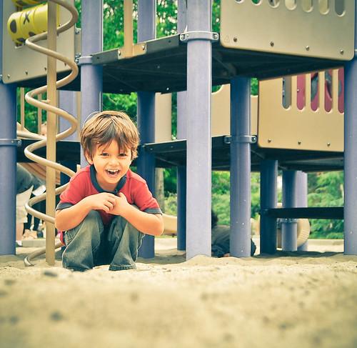 Adrian en el parque