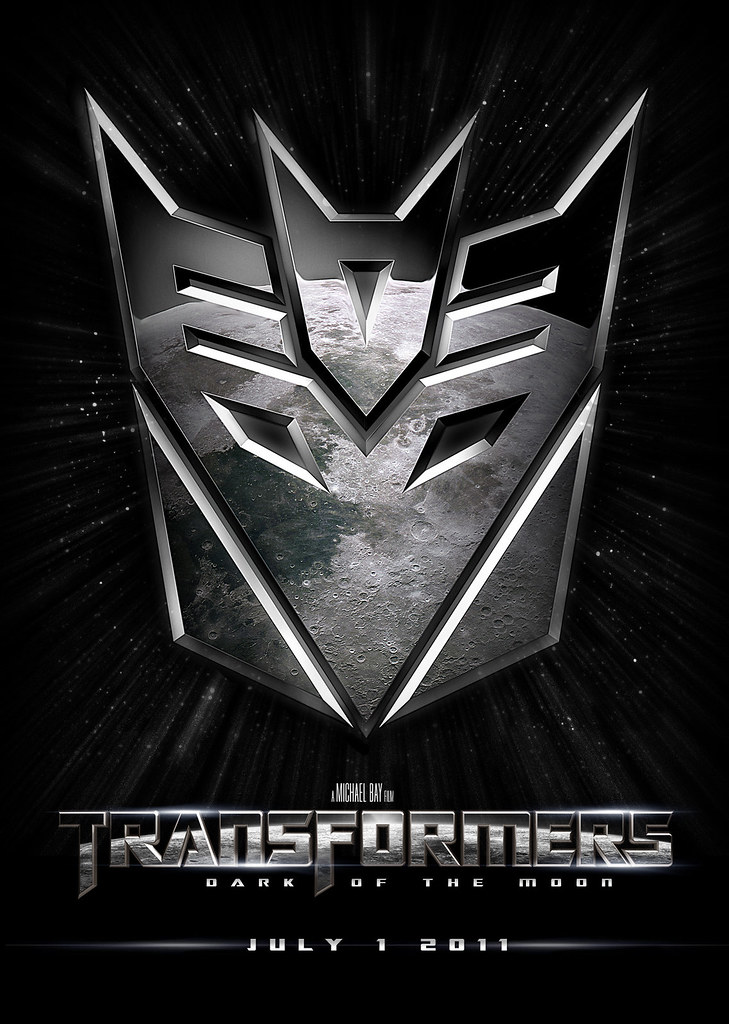 poster Transformers 3 Dark of the Moon Decepticons
