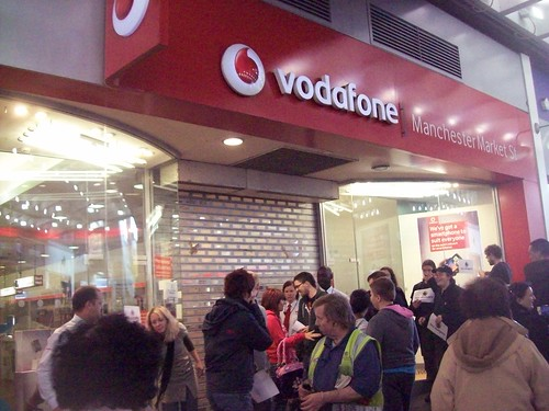 Vodafone do our work for us and shut the shop.